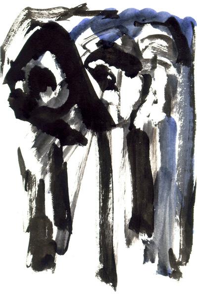 Abstract artist Yuri Lushnichenko - Heroes