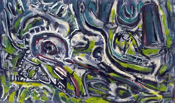Abstract artist Yuri Lushnichenko - XXI Century