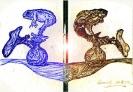 Abstract artist Yuri Lushnichenko - Alchemy