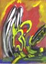 Abstract artist Yuri Lushnichenko - Angel