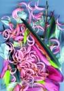 Abstract artist Yuri Lushnichenko - Asura