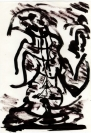 Abstract artist Yuri Lushnichenko -