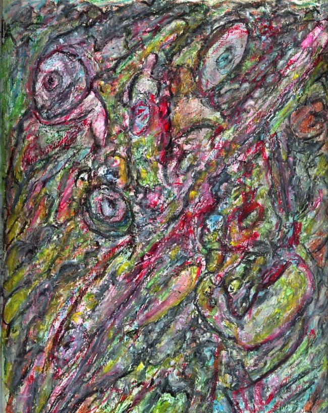 Abstract artist Yuri Lushnichenko - Secrets of the subconscious