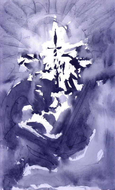 Abstract artist Yuri Lushnichenko - Dedication