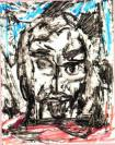 Abstract artist Yuri Lushnichenko - In Depression