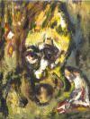 Abstract artist Yuri Lushnichenko - The image of the wood-goblin