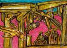 Abstract artist Yuri Lushnichenko - Woodiness