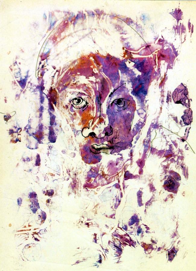 Abstract artist Yuri Lushnichenko - Reincarnation