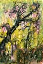 Abstract artist Yuri Lushnichenko - The old acacia