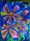 Abstract artist Yuri Lushnichenko - Night Flowers