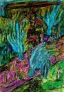 Abstract artist Yuri Lushnichenko - Angelic work