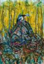 Abstract artist Yuri Lushnichenko - Long way to the goal