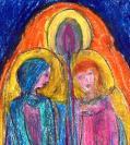 Abstract artist Yuri Lushnichenko - Images of Faith
