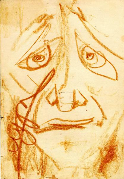 Юрий Лушниченко — Психографика - Иуда (после казни)